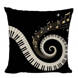 PIANO Round Pillow